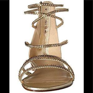 Stuart Weitzman Chaindown Flat Sandals